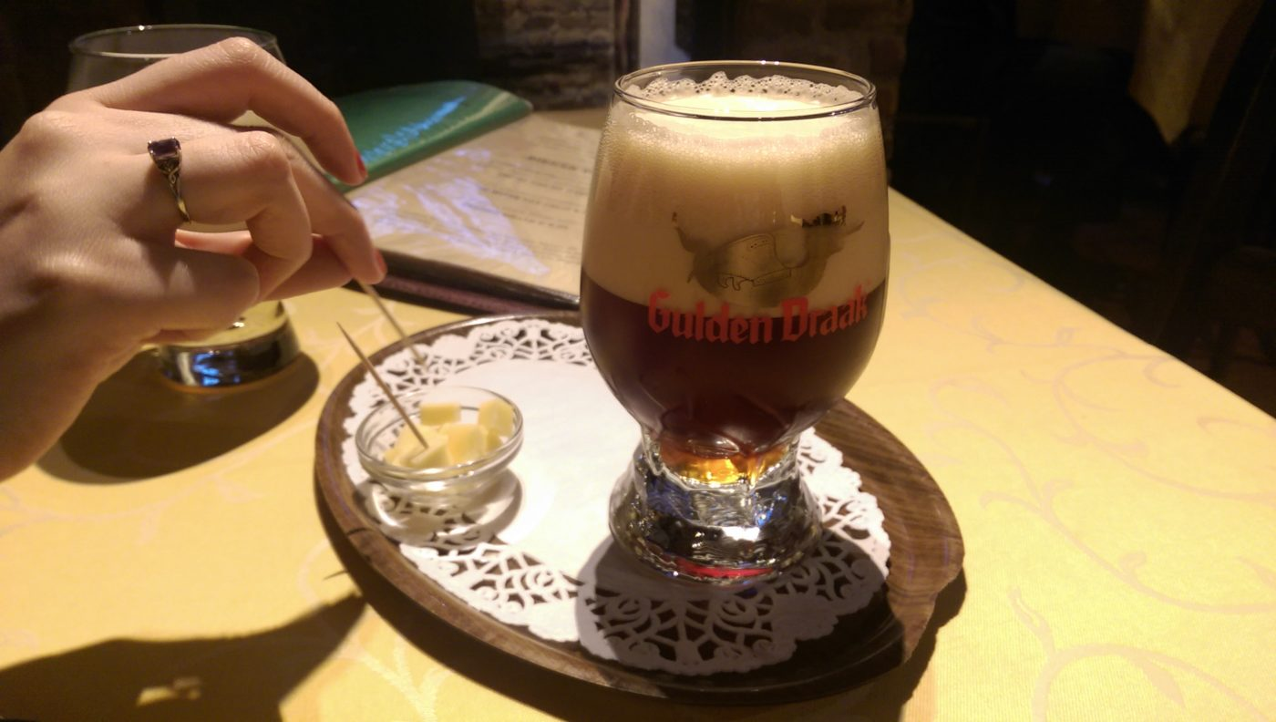 Belgium is one of the best places to taste beer in the world, so here's my ultimate guide to beer in Belgium, specifically Brussels & Bruges | almostginger.com