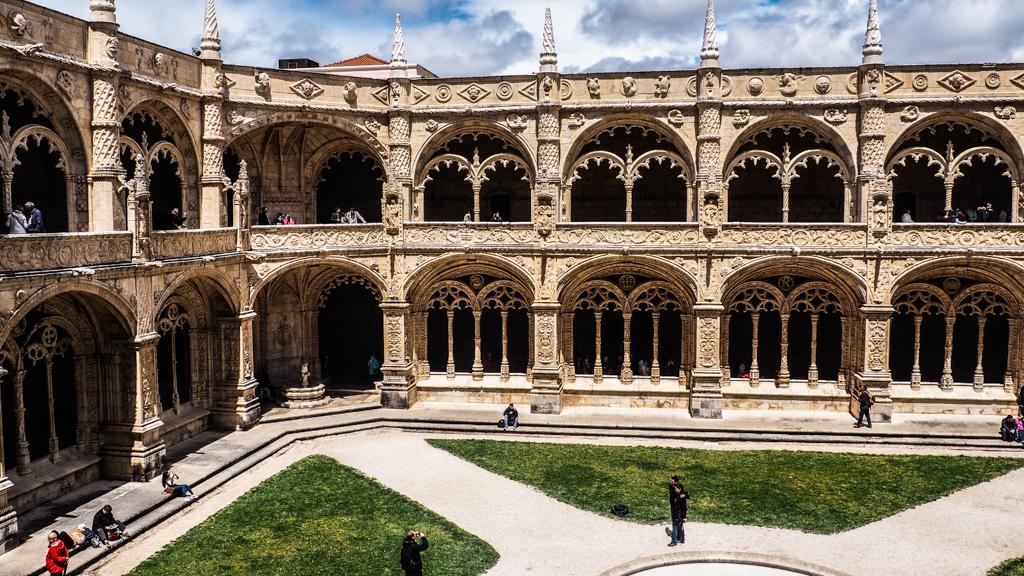 MosteirodosJerónimos in Belém, Lisbon, Portugal