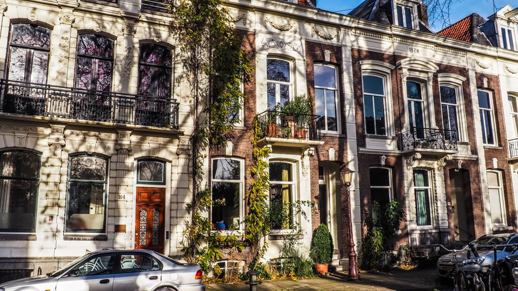 Peter Van Houten's House on Vondelstraat in Amsterdam