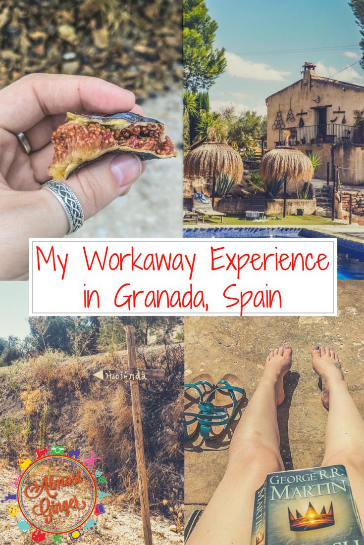 My Workaway Experience in Paradise at a Yoga Retreat in Granada, Spain | almostginger.com