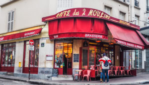 Amélie Film Locations in Paris, France | These top Paris film locations from the 2001 film Amélie (including Cafe Des Deux Moulins, Canal Saint-Martin, Sacre Coeur and Notre Dame) are a must-visit of all film locations in Paris | almostginger.com