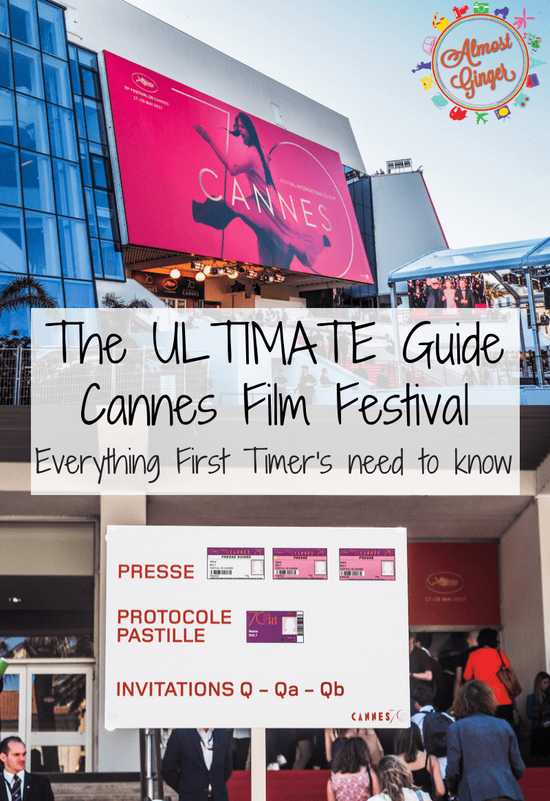 The Ultimate Cannes Film Festival Guide: EVERYTHING First Timer's need to know including badge colours, great Cannes resources, what to wear at Cannes film festival and where to stay in Cannes | almostginger.com