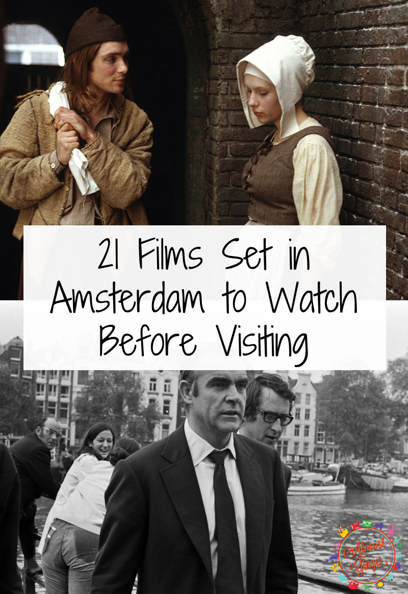21 Films Set in Amsterdam to Watch Before Visiting including The Fault in Our Stars, Black Book, Kidnapping Mr Heineken, Ocean's Twelve, Girl with a Pearl Earring, The Invisible Circus, Hawks, Skill Smokin, Diamond's Are Forever, American Animals, Deuce Bigelow: European Gigolo, Eurotrip, The Diary of Anne Frank, Soldiers of Orange, Amsterdammers and more! | almostginger.com