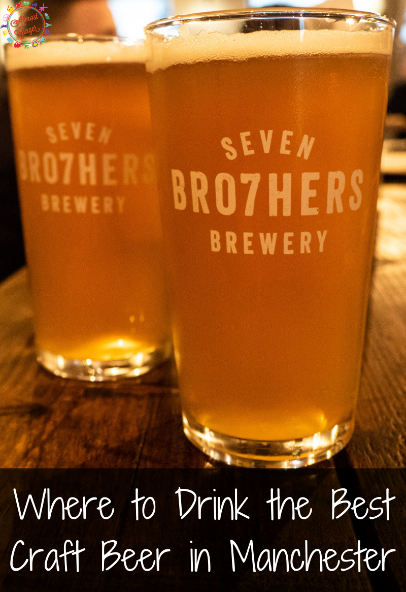 Where to Drink the Best (Local) Craft Beer in Manchester, UK | Manchester Beer| Runaway Brewery. Seven Bro7hers Brewery, Beatnikz Republic, Marble Brewery, Piccadilly Tap, etc. | British Beer | almostginger.com