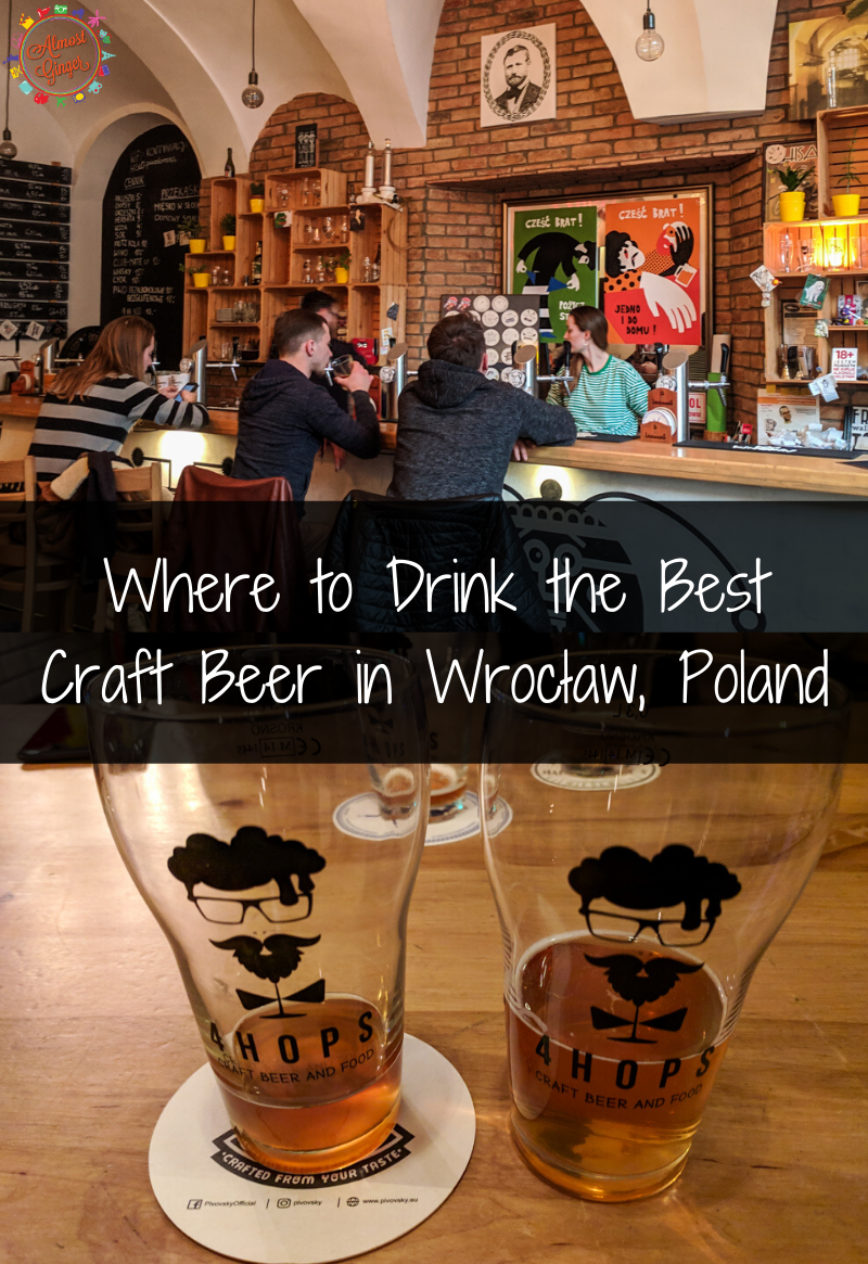 Where to Drink the Best Craft Beer in Wrocław, Poland | almostginger.com