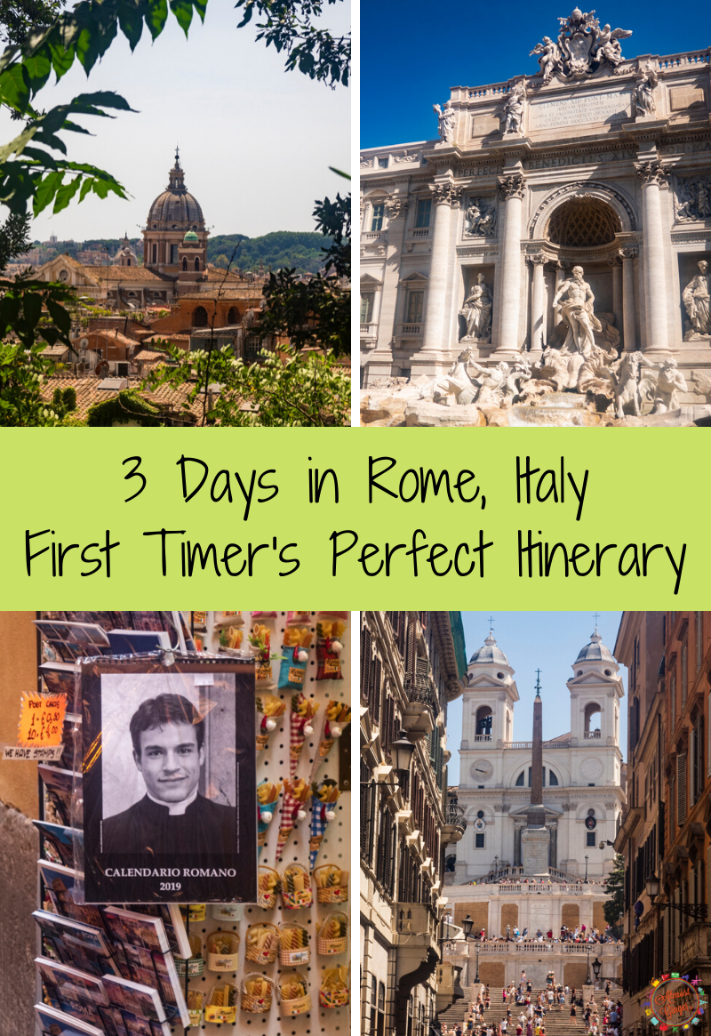 3 Days in Rome: A Perfect Itinerary for First Time Visitors | almostginger.com