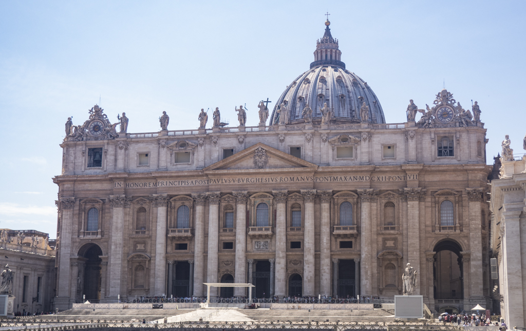 St Peter's Basilica in Vatican City near Rome, Italy | 3 Days in Rome Itinerary