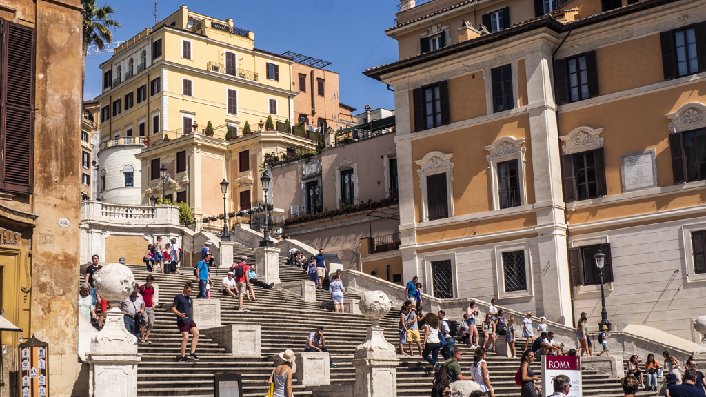 Spanish Steps in Rome, Italy | 3 Days in Rome Itinerary