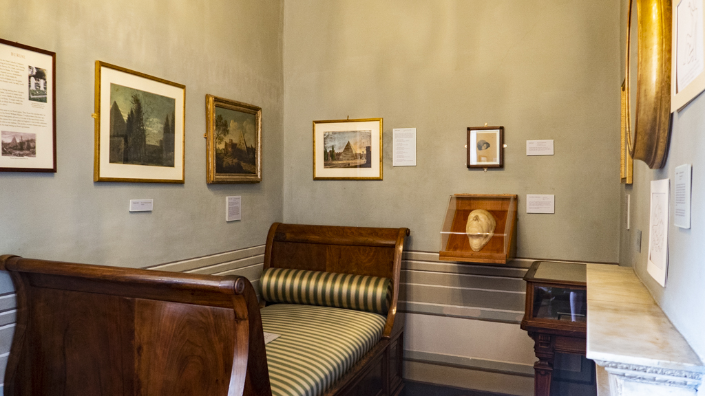 Inside Keats-Shelley House Museum in Rome, Italy | 3 Days in Rome Itinerary