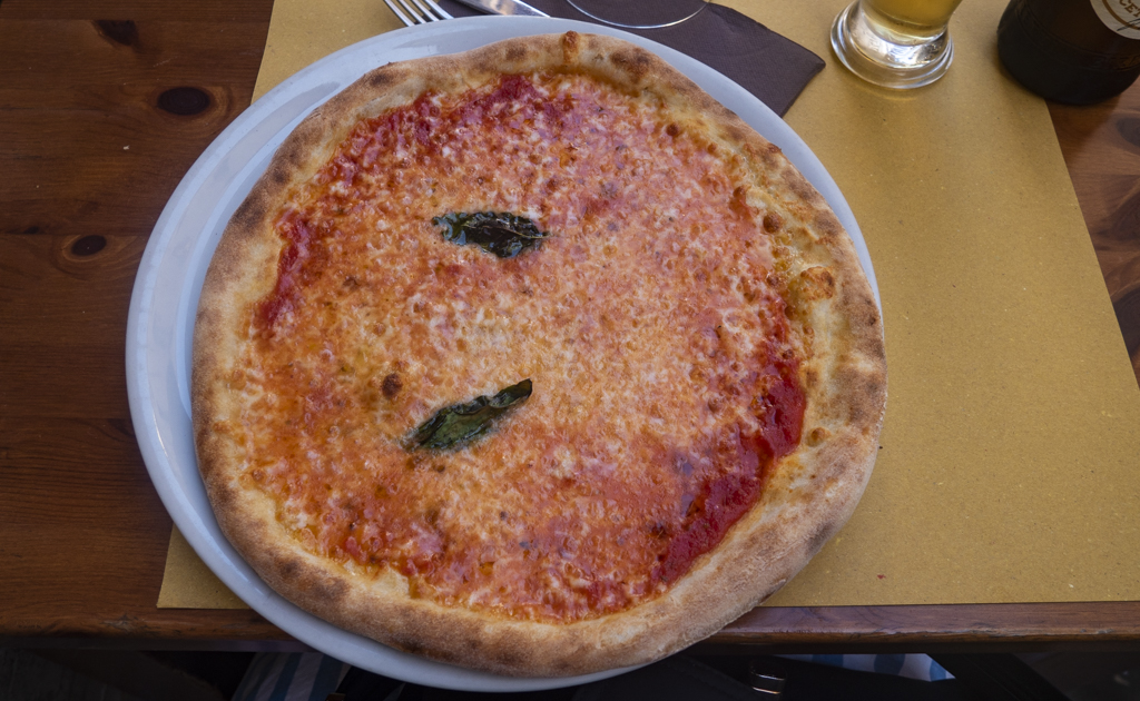 Pizza in Rome, Italy
