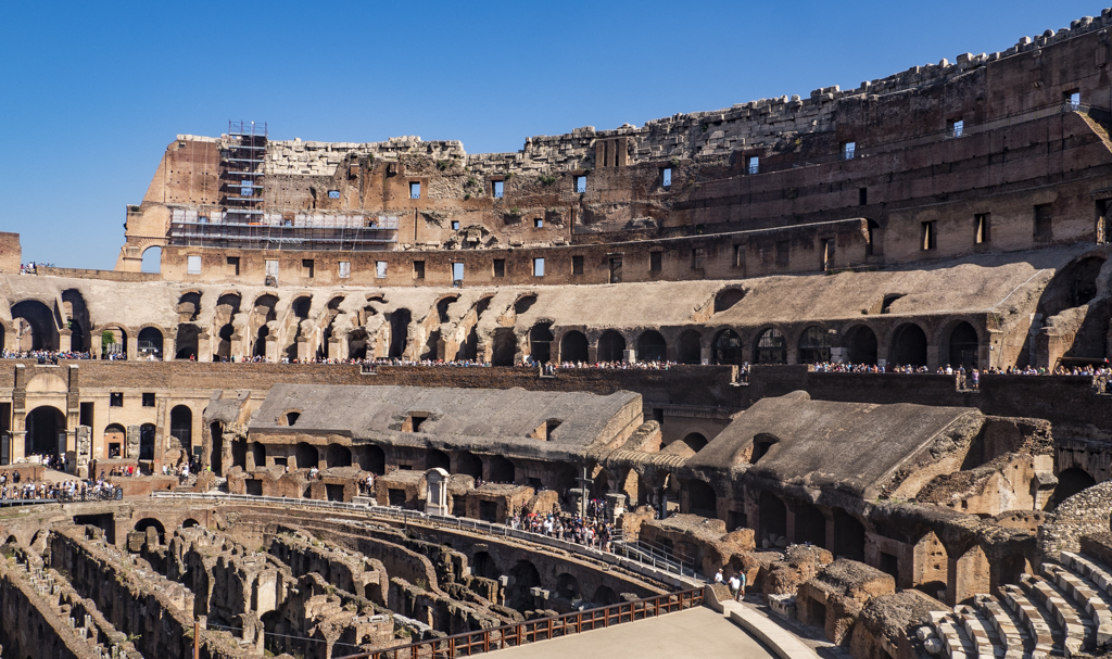 Inside the Colosseum in Rome, Italy | 3 Days in Rome Itinerary
