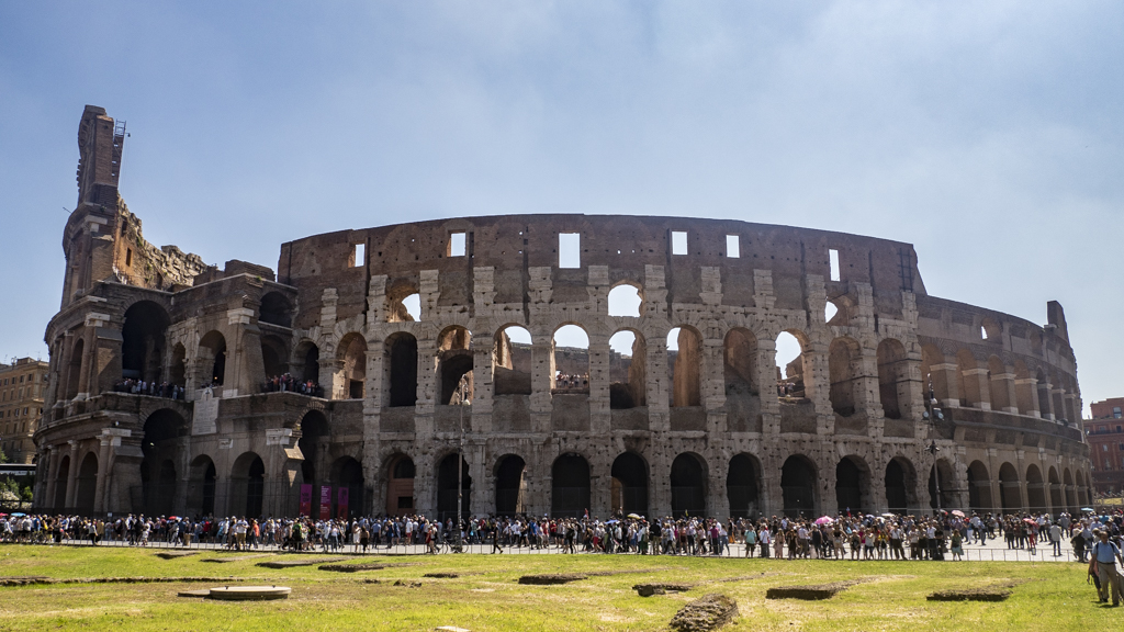 Colosseum in Rome, Italy | 3 Days in Rome Itinerary