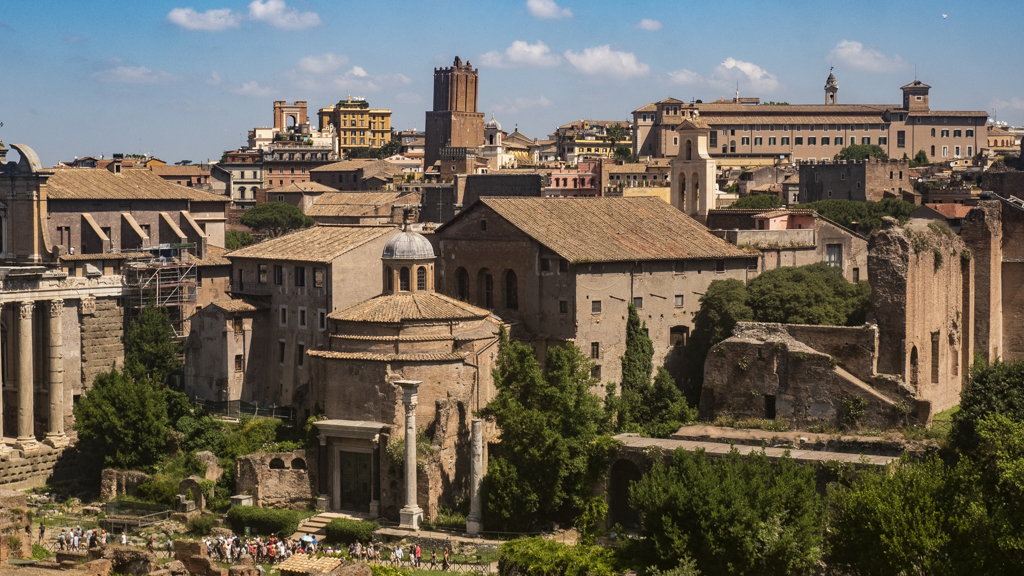 Roman Forum on Palatine Hill in Rome, Itay | 3 Days in Rome Itinerary