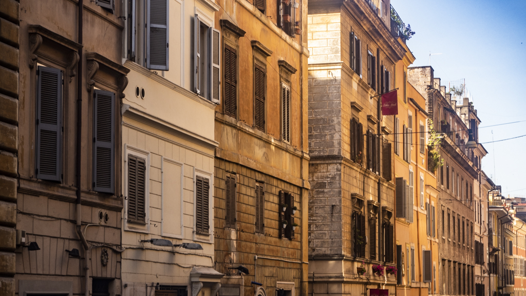 Street in Rome, Italy | 3 Days in Rome Itinerary