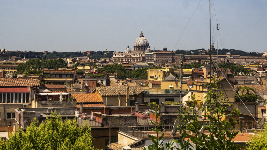 View of St Peter's Basilica from Villa Borghese in Rome, Italy | 3 Days in Rome Itinerary