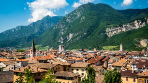 View from Castello del Buonconsiglio in Trento, Italy, one of the top things to do in Trento