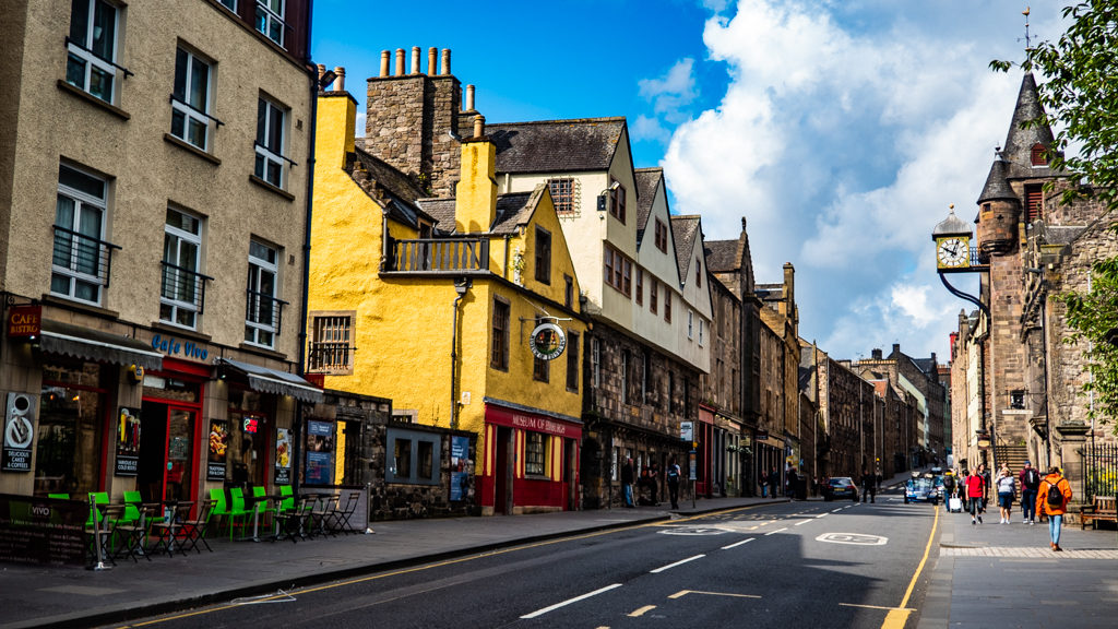 The Royal Mile in Edinburgh | 3 Days in Edinburgh