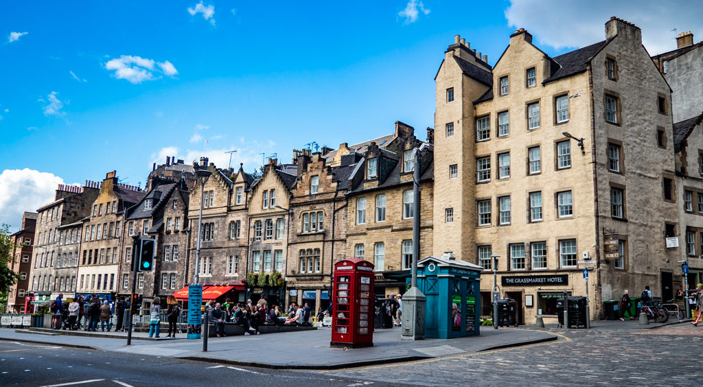 Grassmarket in Edinburgh | 3 Days in Edinburgh