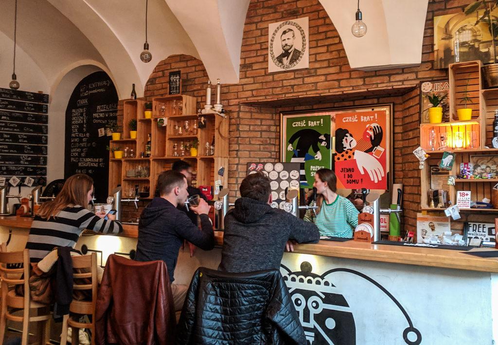 Inside Kontynuacja Craft Beer Bar in Wrocław, Poland, how to spend 48 Hours in Wrocław, Poland