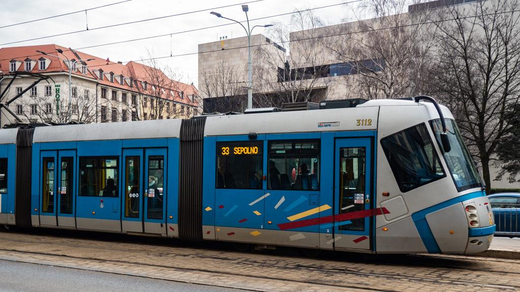 Trams in Wrocław, Poland, how to spend 48 Hours in Wrocław, Poland