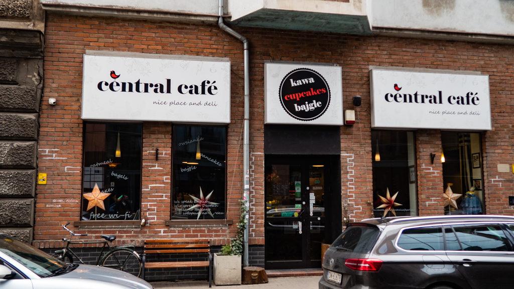 Exterior of Central Café in Wrocław, Poland, how to spend 48 Hours in Wrocław, Poland
