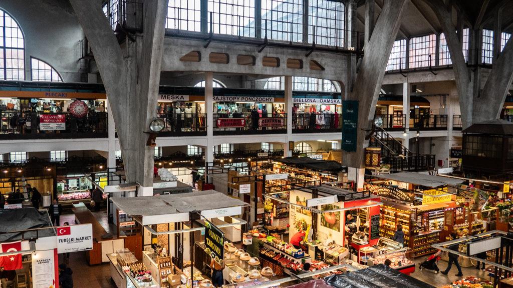 Hala Targowa Market in Wrocław, Poland, how to spend 48 Hours in Wrocław, Poland