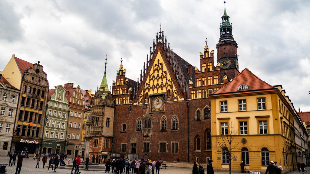 Wrocław Town Hall and Astronomical Clock in Wrocław, Poland, how to spend 48 Hours in Wrocław, Poland
