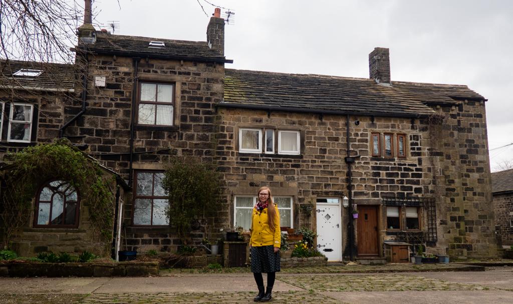 Almost Ginger blog owner in Heptonstall near Hebden Bridge in Yorkshire, UK