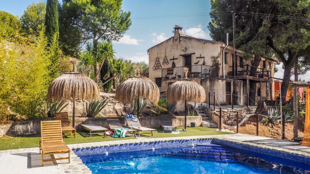 The Haçienda Retreat in Granada, Spain