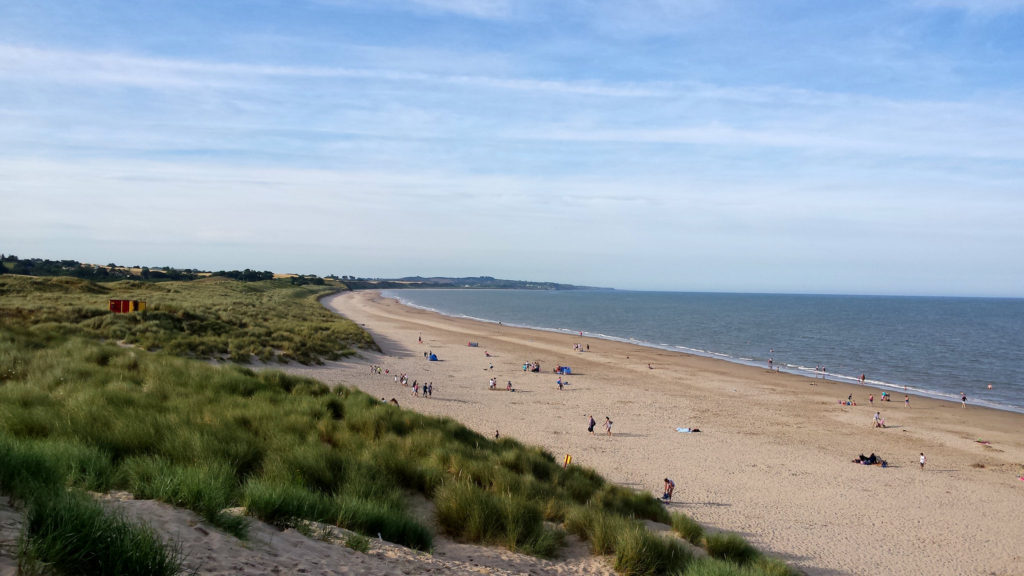 Curracloe Beach in County Wicklow, Ireland