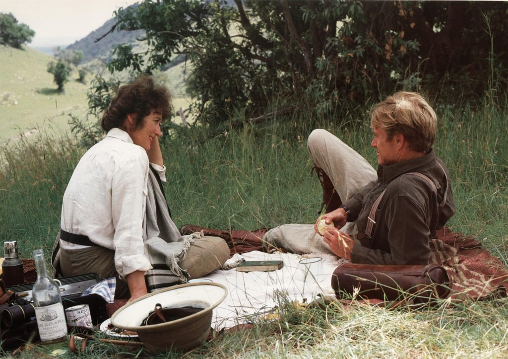 Best Travel Movie Out of Africa (1985)
