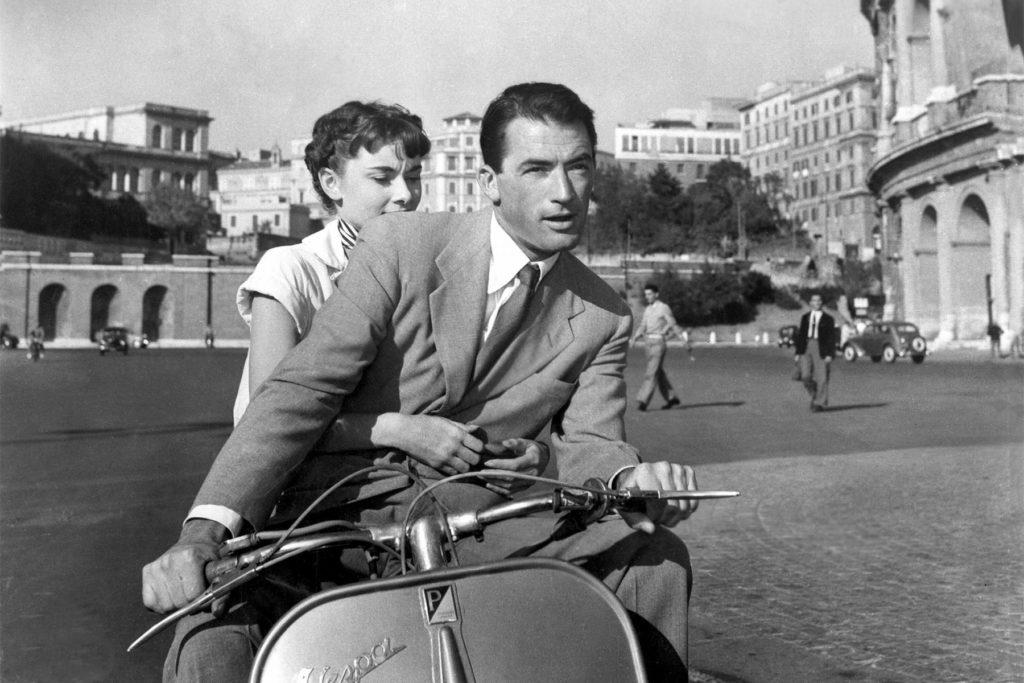 Best Travel Movie Roman Holiday (1953)