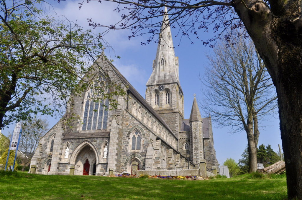 St Aidan's Cathedral in Enniscorthy, County Wicklow in Ireland
