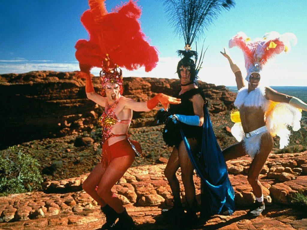 Best Wanderlust Inspiring Film The Adventure of Priscilla, Queen of the Desert (1994)