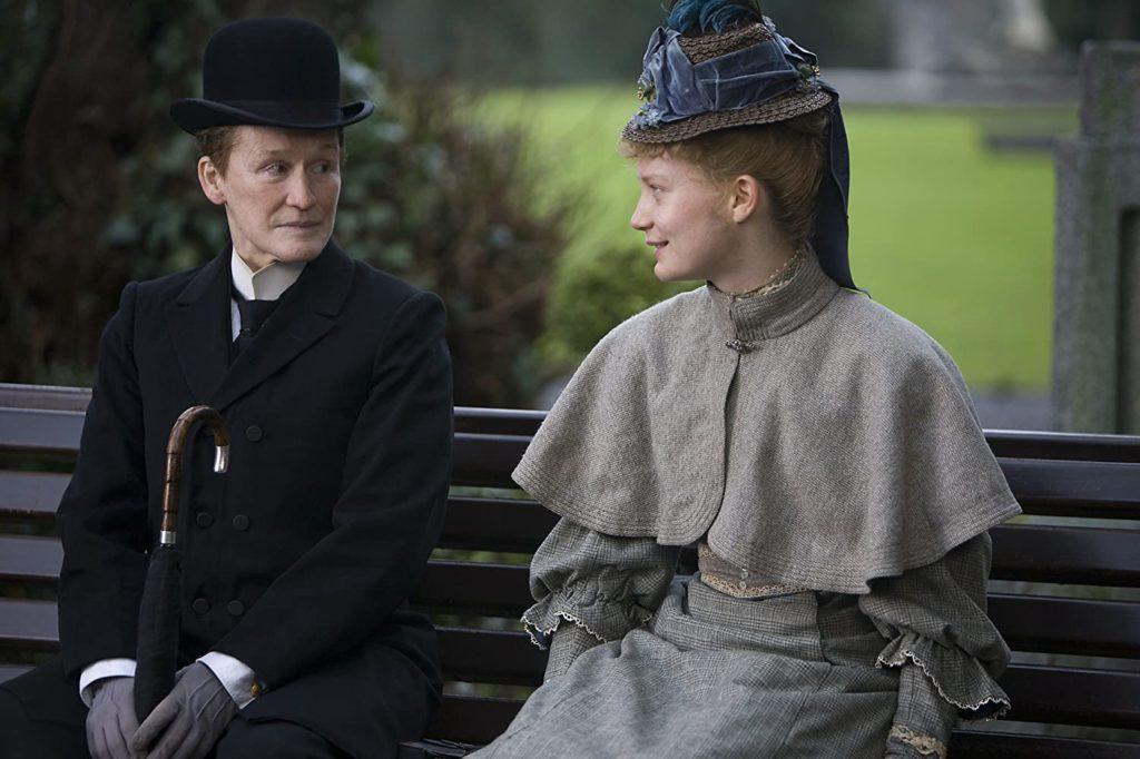 Film still from Albert Nobbs, a film set in Dublin, Ireland