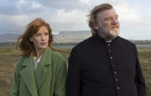 Film still from Calvary, a film set in Ireland