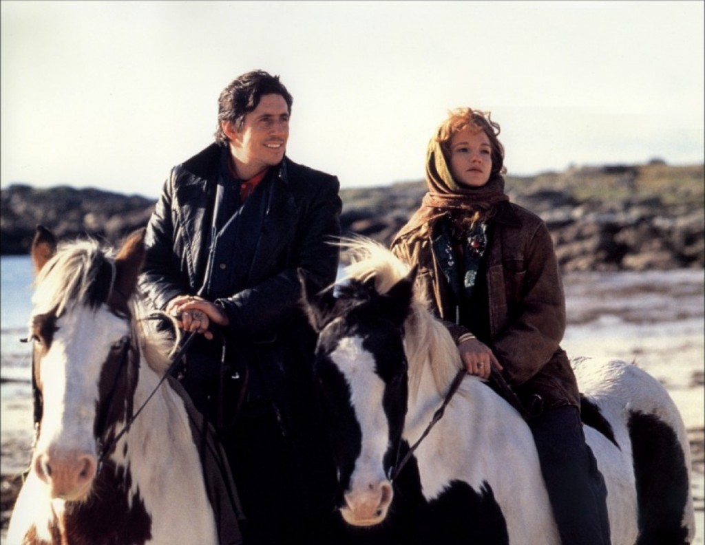 Film still from Into the West, a film set in Ireland