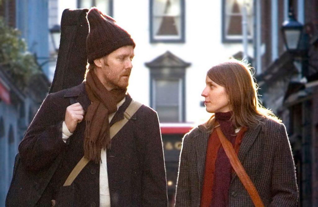 Film still from Once, a film set in Dublin, Ireland