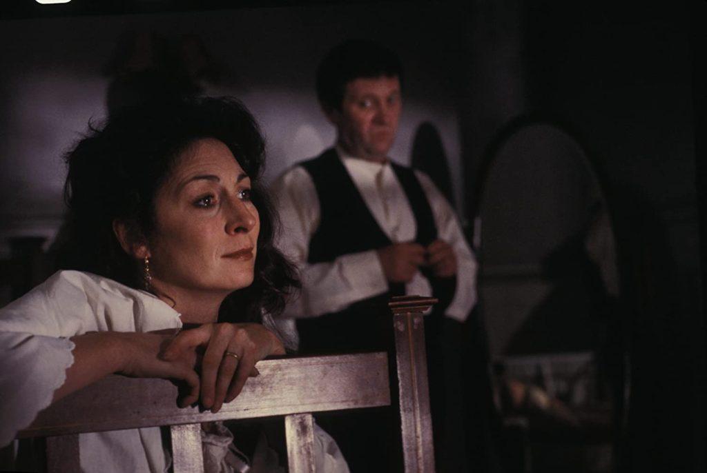 Film still from The Dead, a film set in Dublin, Ireland