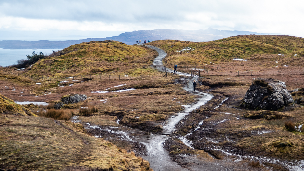 Path upto The Old Man of Storr on the Isle of Skye, Scotland