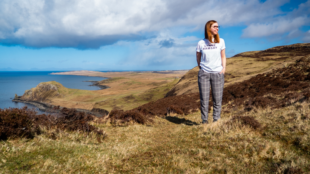 Almost Ginger blog owner in Uig on the Isle of Skye, Scotland