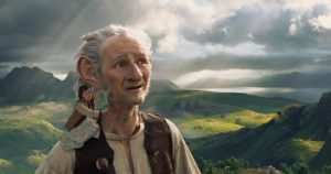 Scene from The BFG, film shot at the Quiraing on the Isle of Skye in Scotland