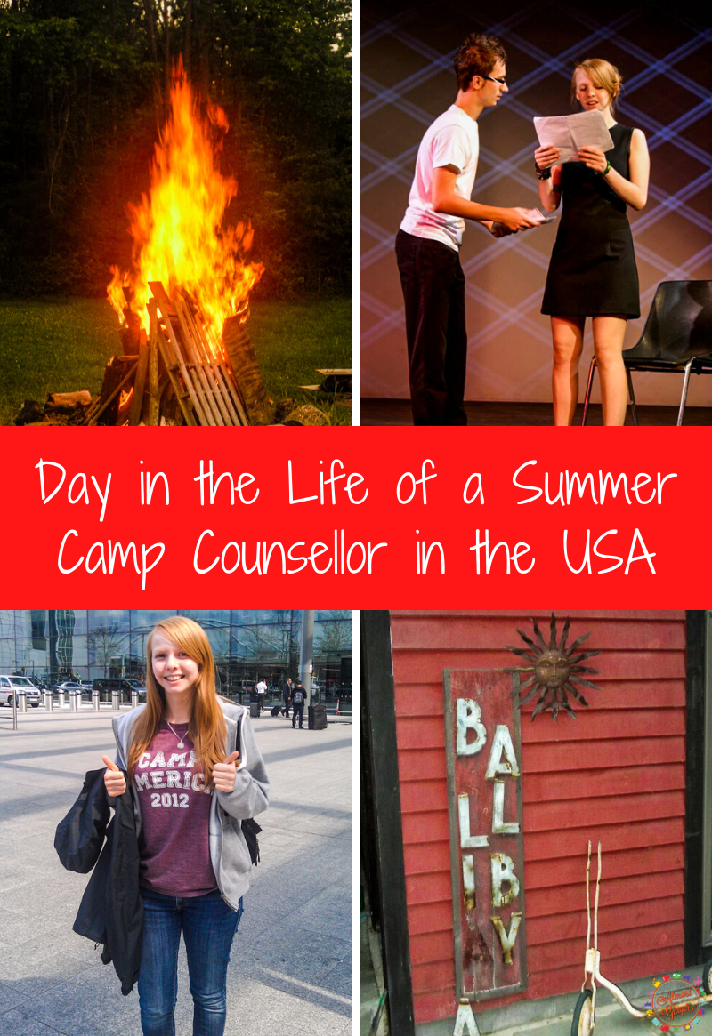 Day in the Life of a Summer Camp Counsellor in the USA | almostginger.com