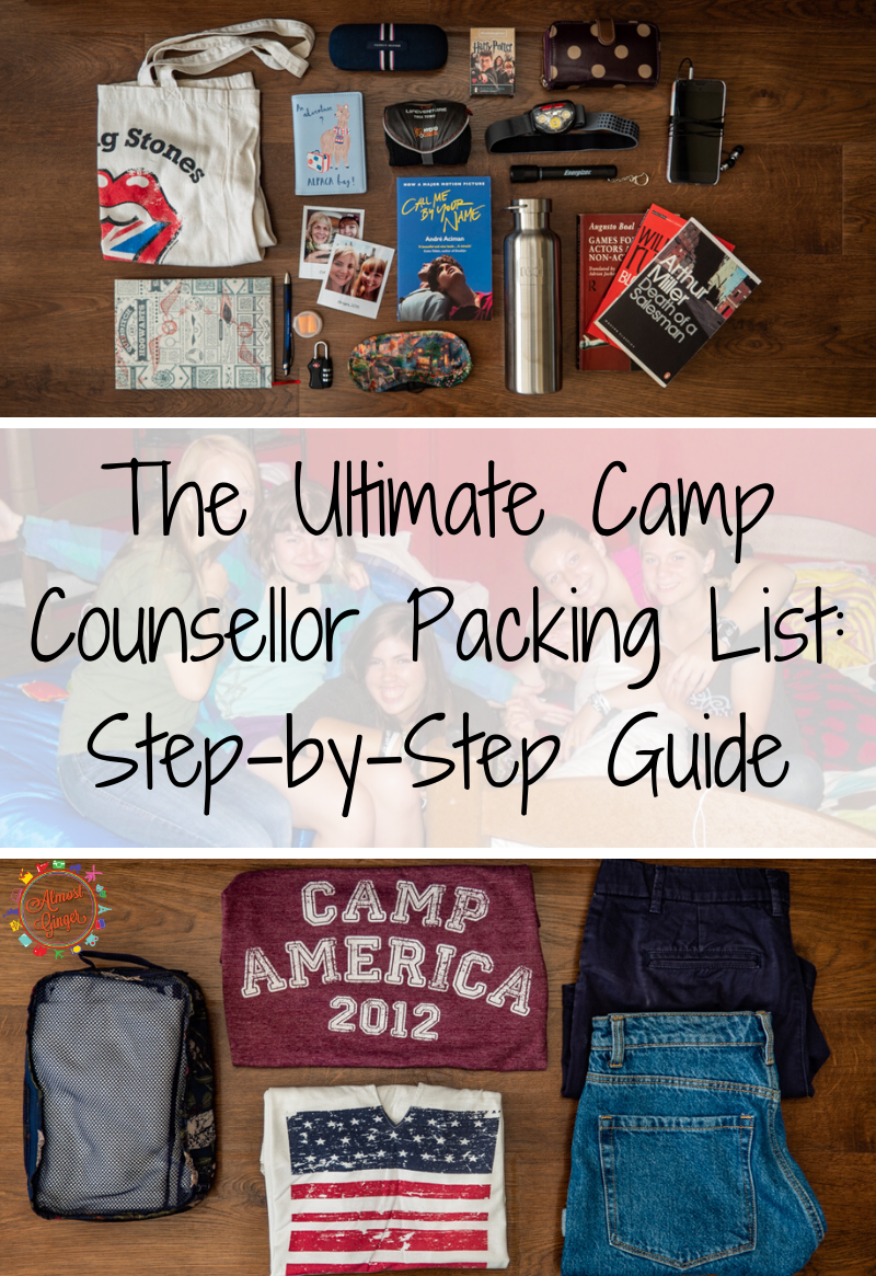 Ultimate Camp Counsellor Packing List: What to Pack for Camp America | almostginger.com