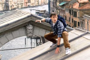 Spider-Man: Far From Home film still in Venice, Italy