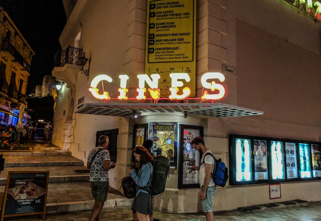 Cine Albéniz in Málaga, Spain