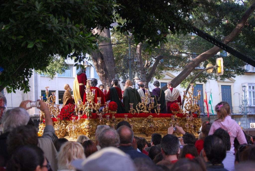 Semana Santa Procession in Málaga, Spain