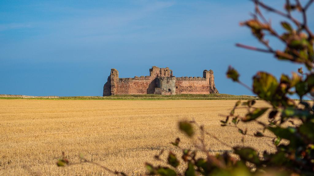 Tantallon Castle in North Berwick, Scotland