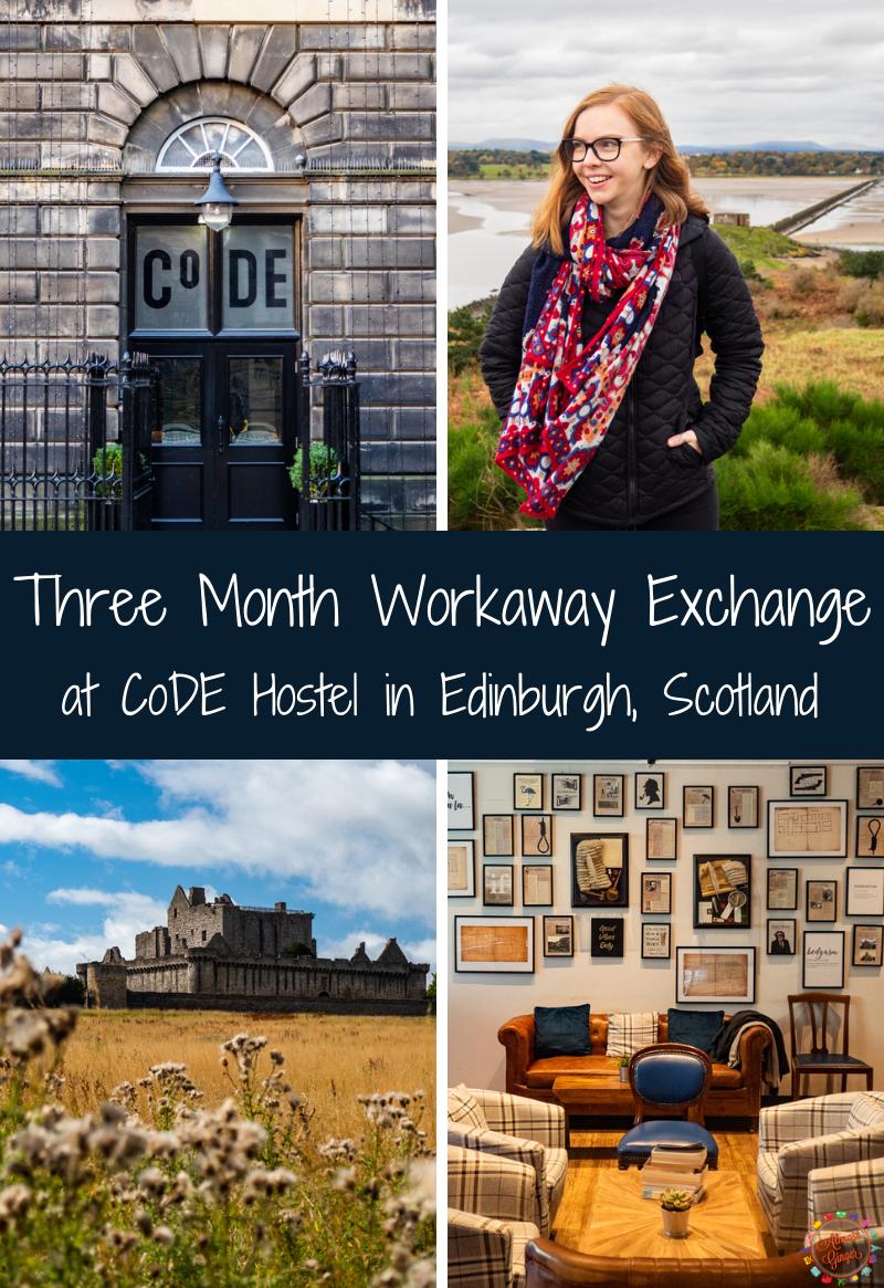Workaway: Three Months at CoDE Hostel in Edinburgh (in 2020!) | almostginger.com