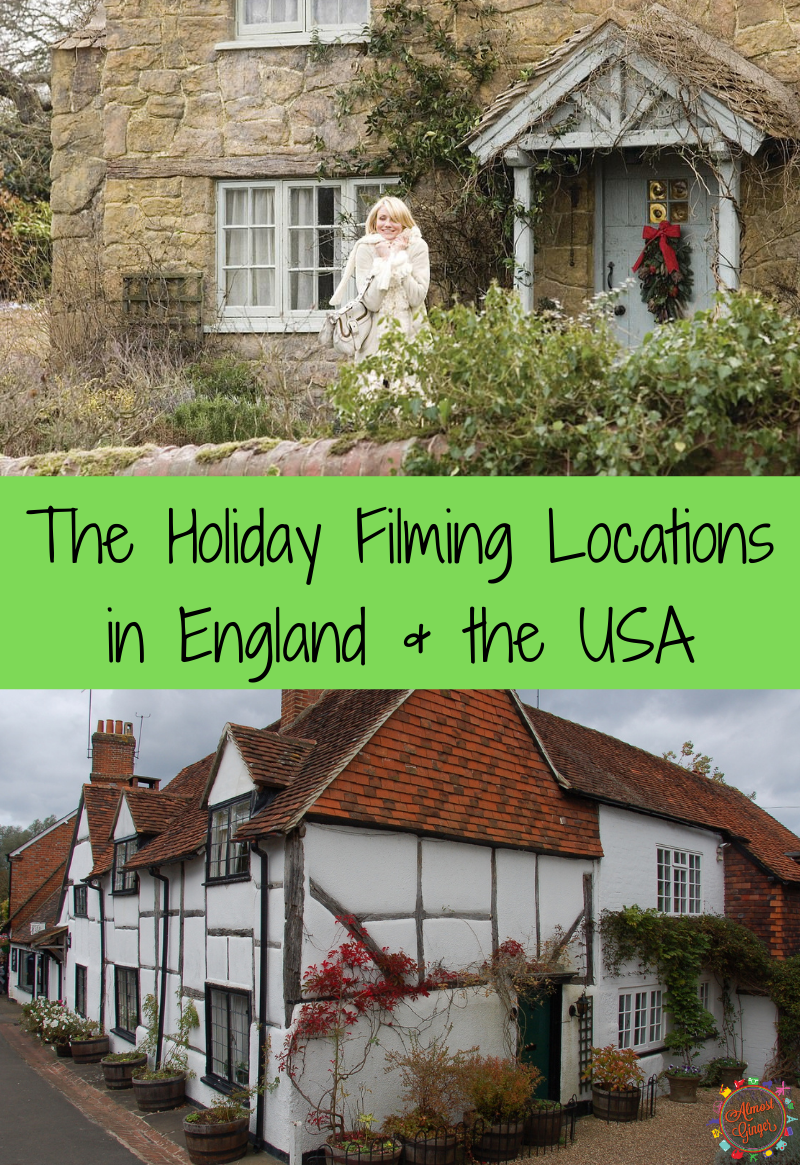 The Holiday Filming Locations in England & USA | almostginger.com